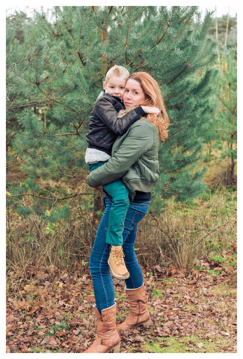 Family Lifestyle Photography in the Woods