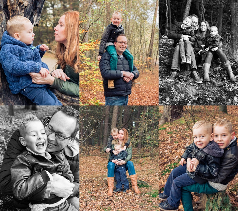 Autumn family photoshoot Netherlands
